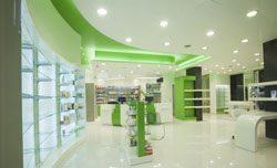 Отделка аптек в Кургане