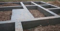 Строительство фундамента в Кургане и пригороде